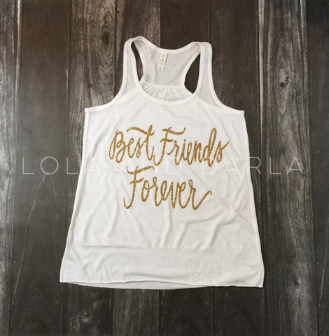 Best Friends Forever Women's Tank Top