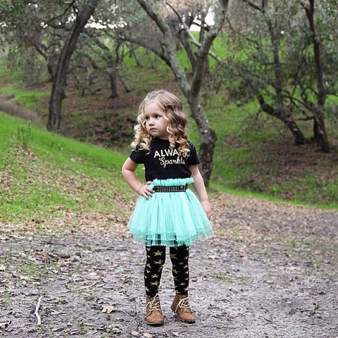 Always Sparkle Toddler and Girls Sparkle T Shirt
