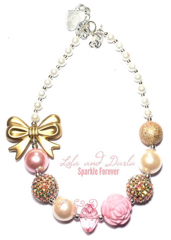 Sparkle Forever in Golden Pink