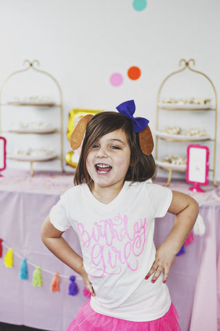 Birthday Girl Short Sleeve T shirt