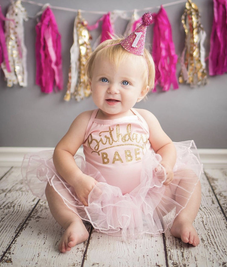 Birthday Leotard Tutu Dress