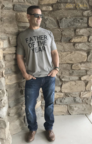 Father of the Year Men's T Shirt