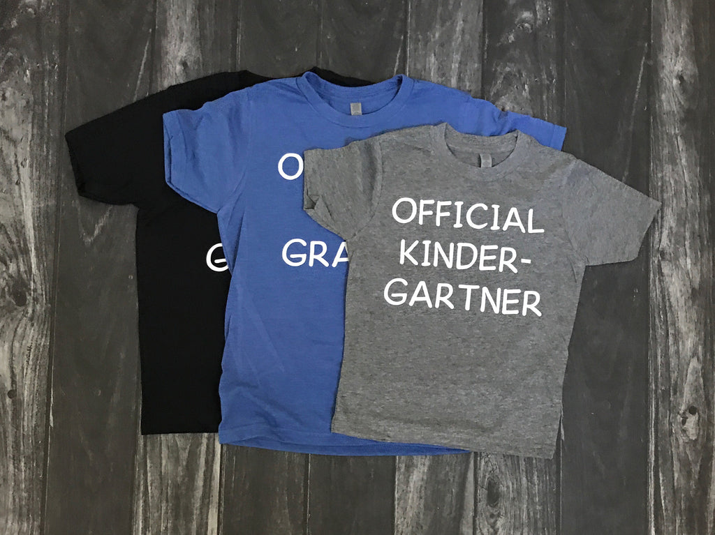 Official School short sleeve T shirt for BOYS