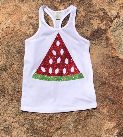 Fresh Sparkle Watermelon tank top