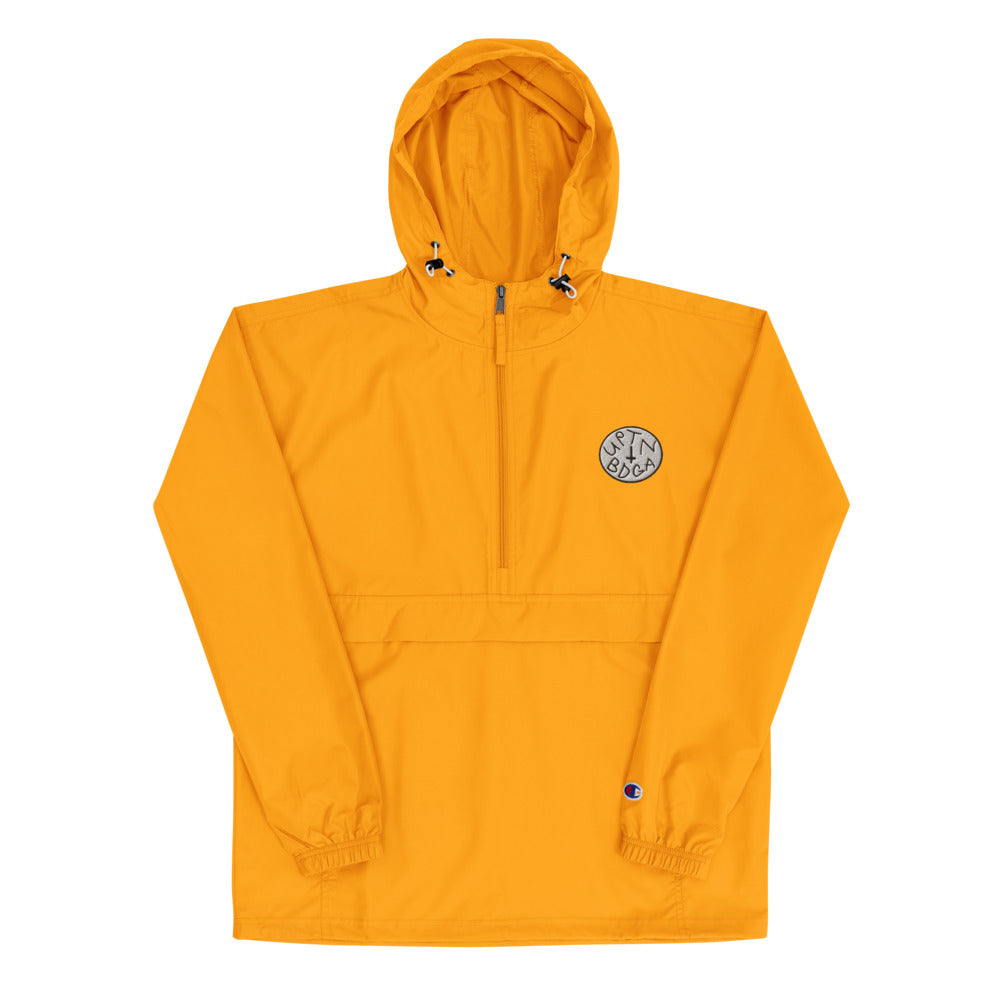 "Champion Packable Vintage Jacket Featuring ""UPTN BDGA"" patch - Bodega WORLD 146"