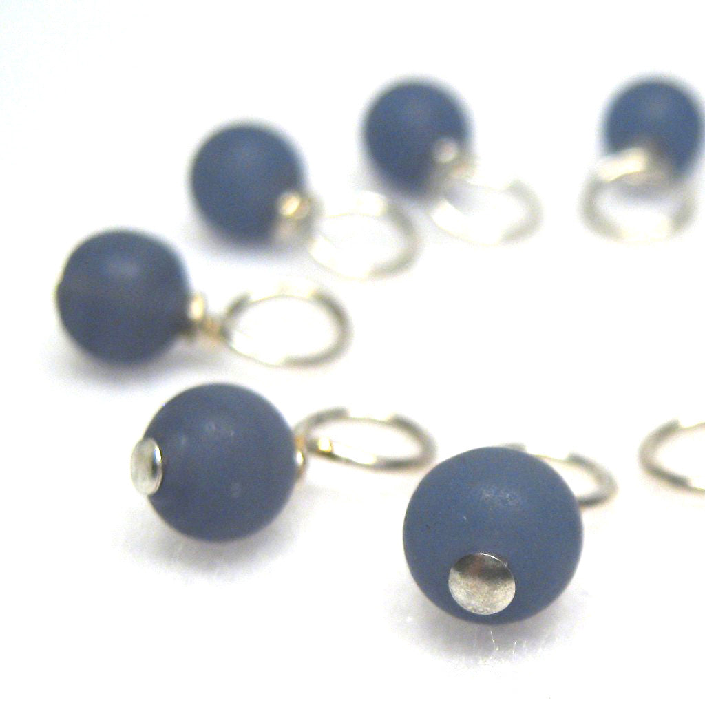 Blueberry Droplet Stitch Markers