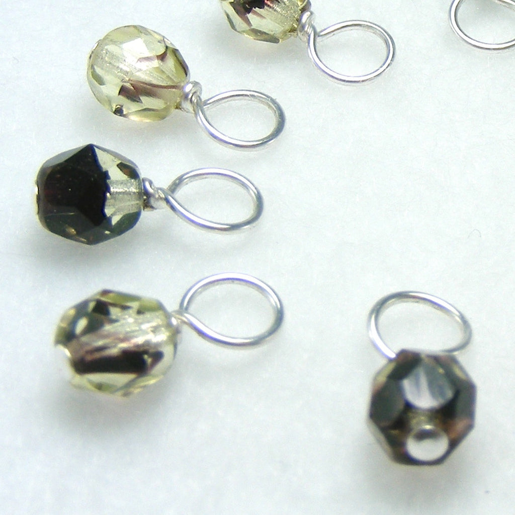 Root Beer Droplet Stitch Markers