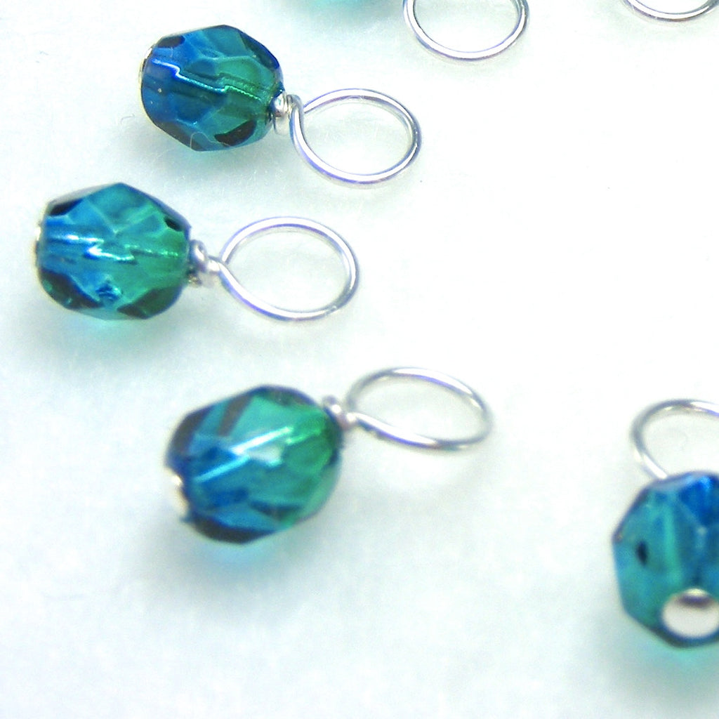 Northern Lights Droplet Stitch Markers