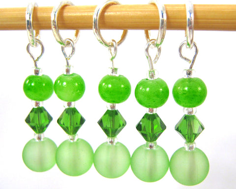 Fiddlehead Fern Stitch Marker Set