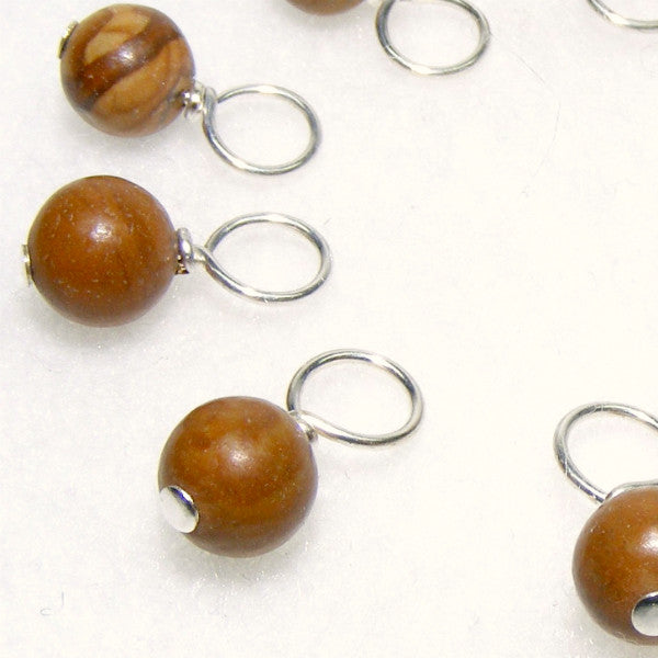 Grain Stone Droplet Stitch Markers