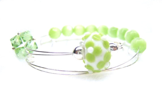 Fresh Lime Row Counter Bracelet