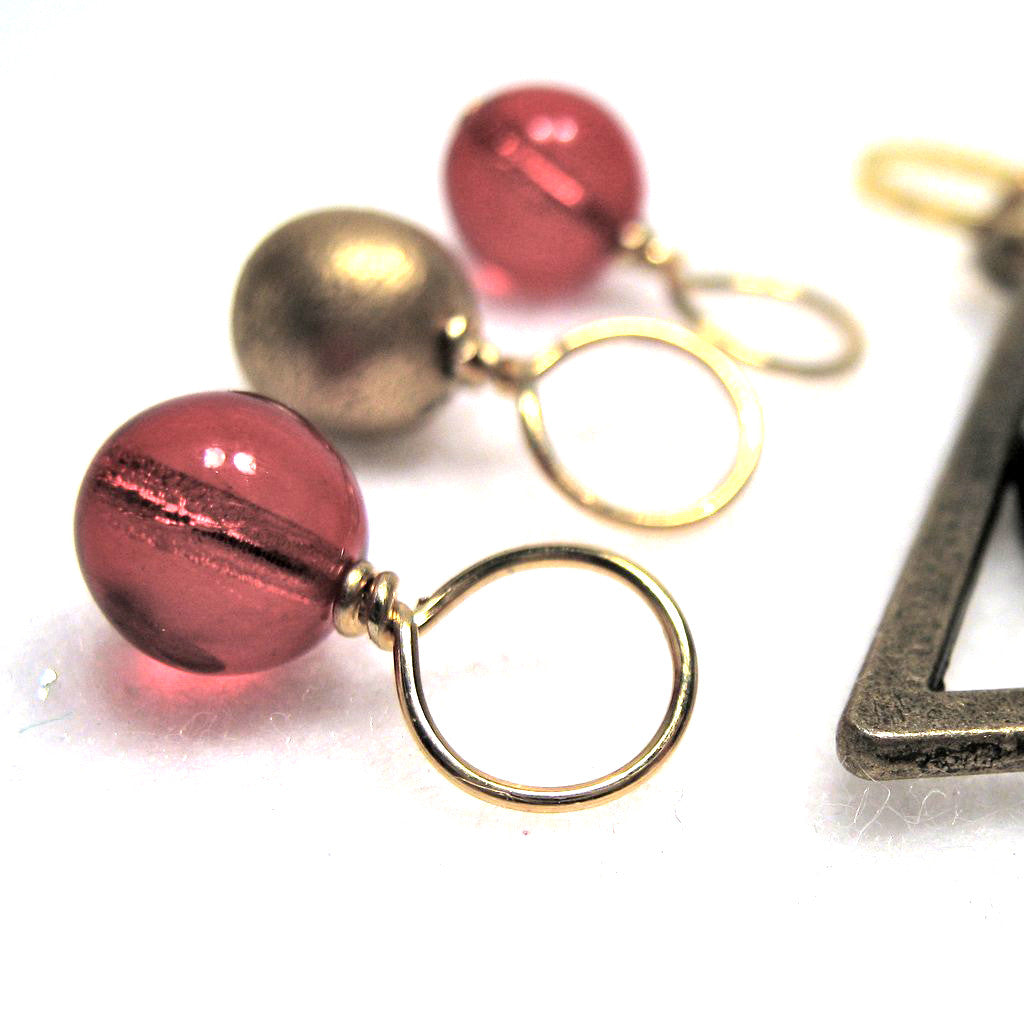 Harry Potter Gryffindor House Stitch Marker Drops