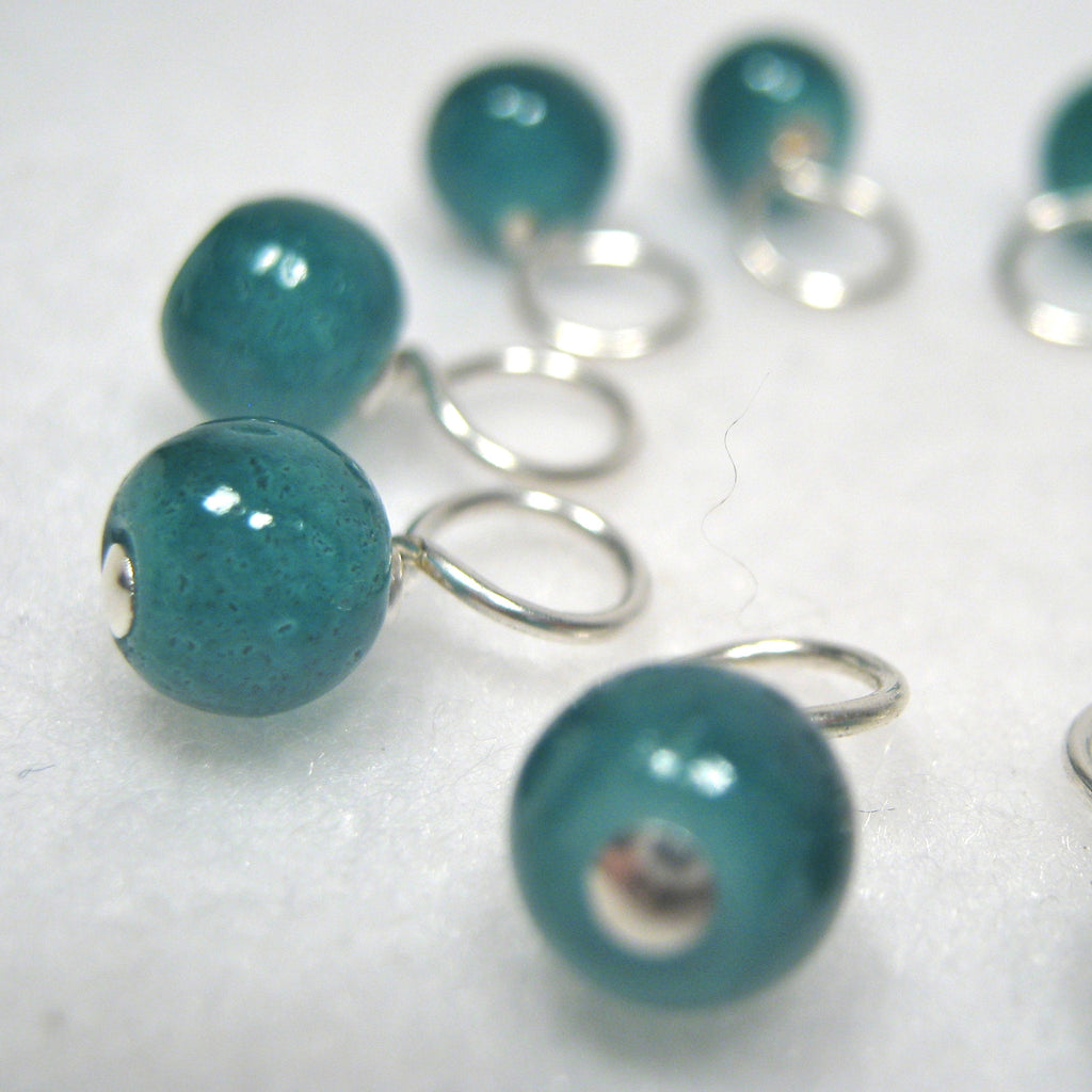 Evergreen Droplet Stitch Markers