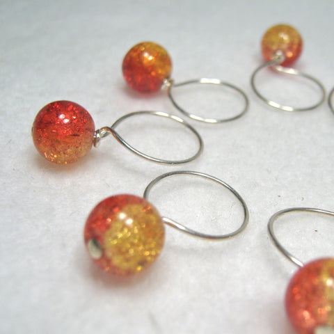 Autumn Leaves Stitch Marker Drops