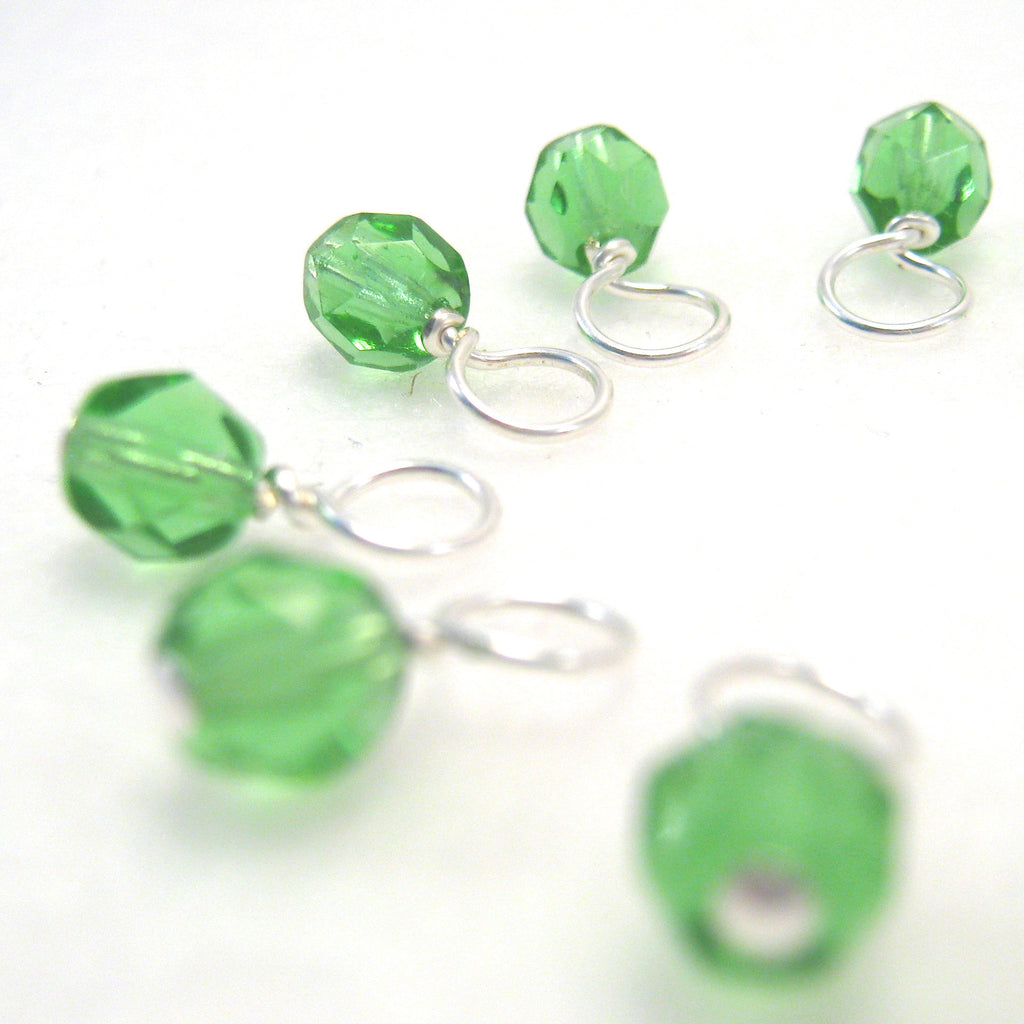 Leafy Greens Droplet Stitch Markers