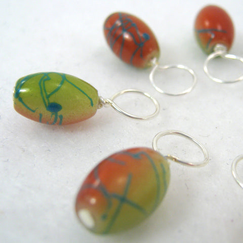 Autumn Carnival Stitch Marker Drops