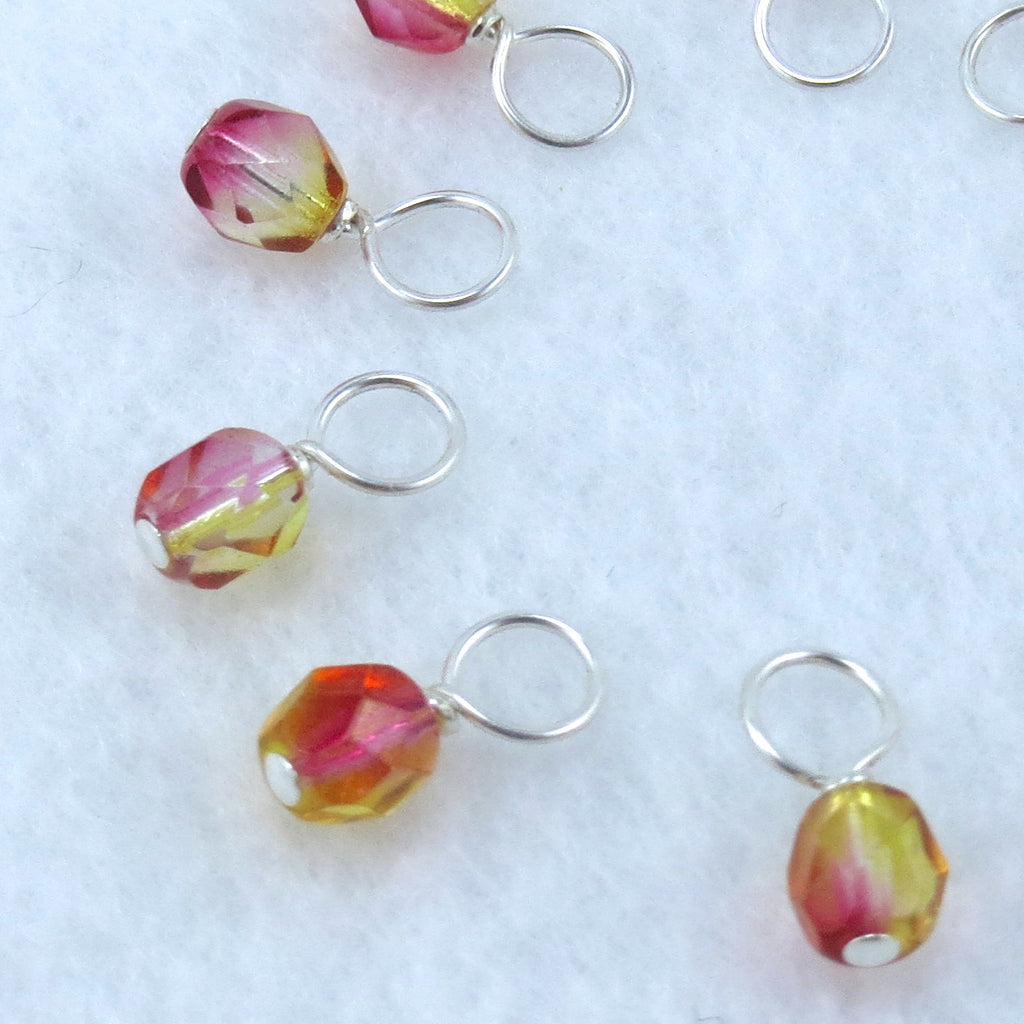 Nectarine Droplet Stitch Markers