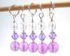 Purple Passion Stitch Marker Set