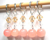 Powder Puff Stitch Marker Set