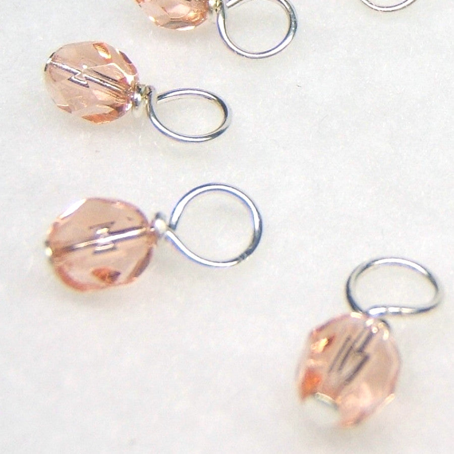 Rose Petal Droplet Stitch Markers