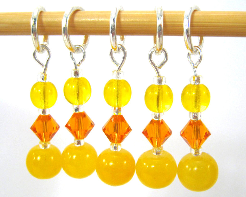 Rubber Ducky Stitch Marker Set