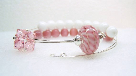 Candy Striper Row Counter Bracelet