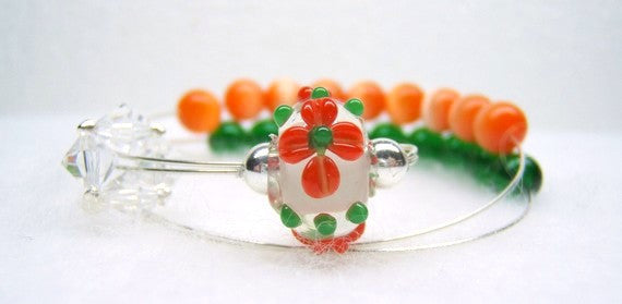 Hula Girl Row Counter Bracelet