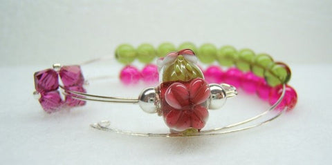 Apple Blossom Row Counter Bracelet