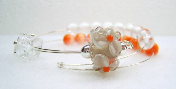 Marigold Row Counter Bracelet