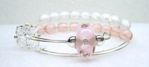 Ballerina Row Counter Bracelet