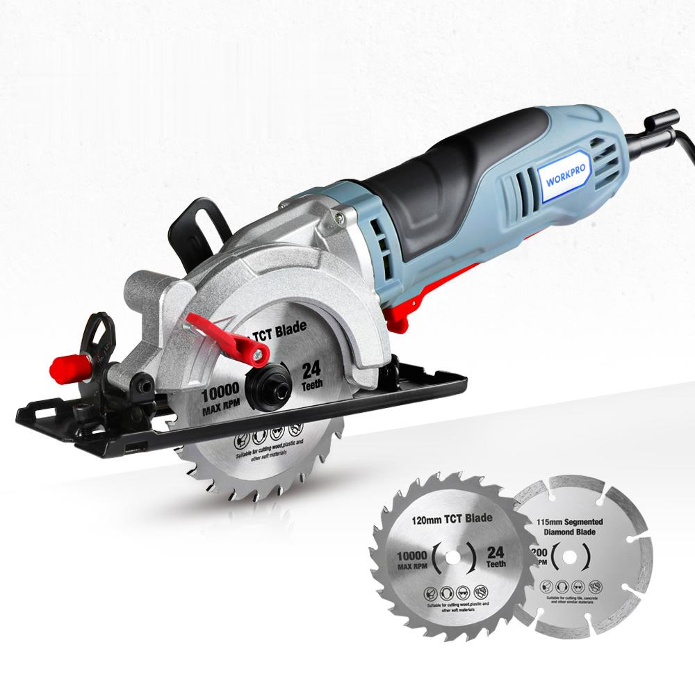 710W Electric Saw With TCT Blade and Diamond Blade Sawing Machine(Ship form Spain)