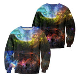 Unisex 3D Graphic Sweatshirts Animals Wolf 1