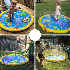 Outdoor Inflatable Water Spray Play Pad