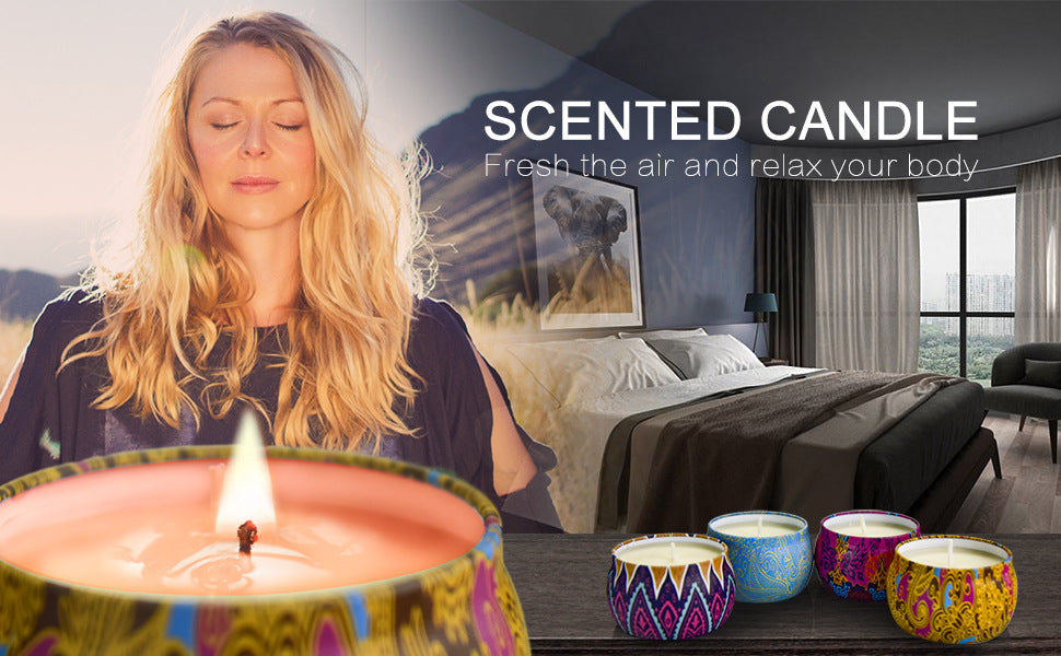 Set Portable Scented Candle