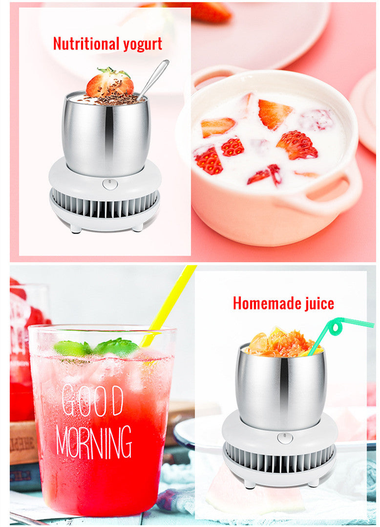 2-in-1 Desktop Beverage Cooler Smart Cup