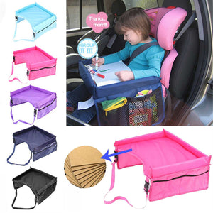 Baby Car Seat Tray Storage Rack