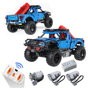 1630PCS Pickup Truck RC/Non-RC Off-Road SUV Bricks