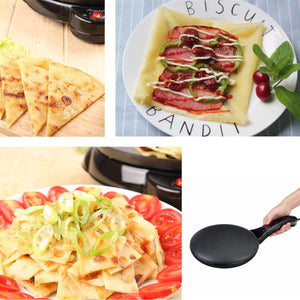Non-stick Electric Crepe Maker Pizza Pancake Machine