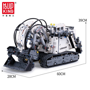RH400 City Mining Excavator Model Building Blocks (with motors)