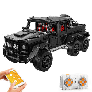 3300Pcs Vehicle Truck RC/Non-RC Bricks SUV