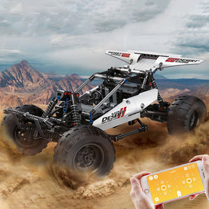 394pcs Remote Control Desert Speed Racing (A)