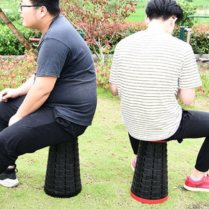 Convenient Retractable Stool
