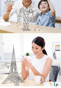150pcs DIY Magnetic Sticks & Balls