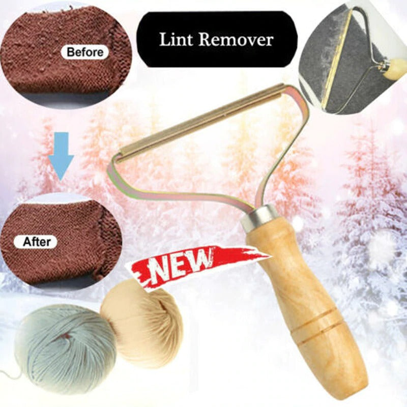 Portable Lint Remover Clothes Fuzz Fabric Shaver Brush Tool Power-Free