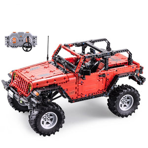 1941PCS Off-Road Truck Remote Control SUV Building Blocks with motors