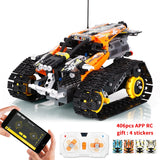 406pcs Technic RC Tracked Stunt Racer With motors