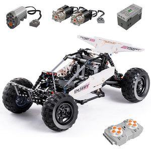 394pcs Remote Control Desert Speed Racing