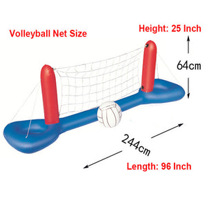 Inflatable Pool Float Toys For Adults Children (Football Volleyball Basketball)