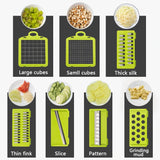 Multifunctional Vegetable Fruits Mandoline Slicer