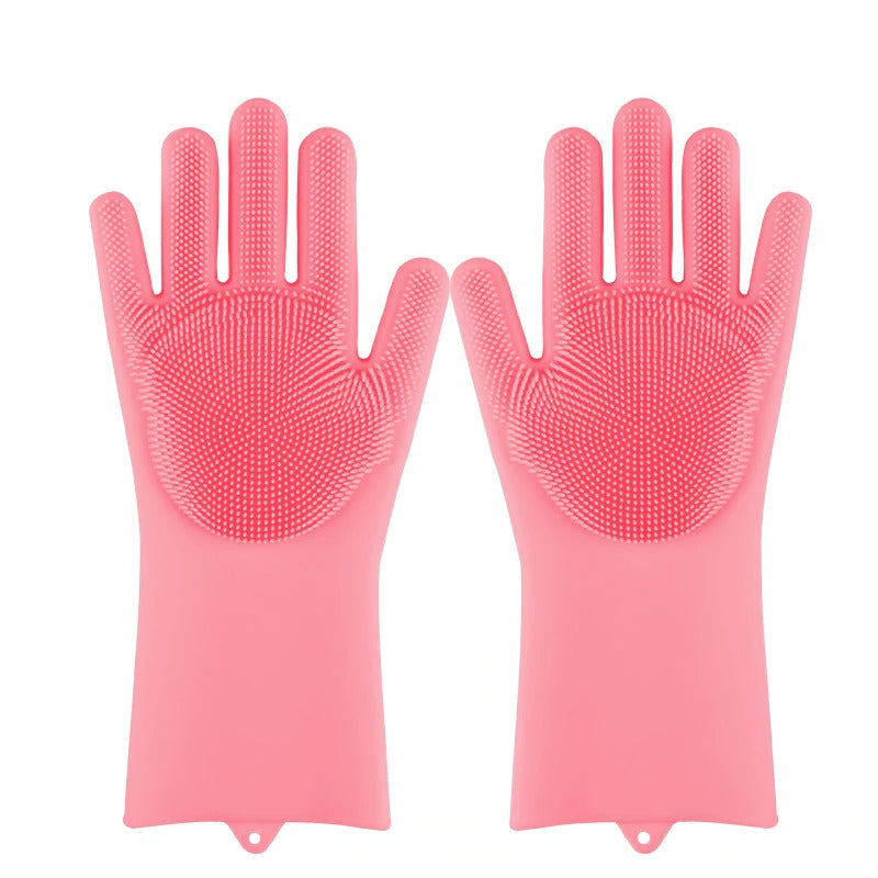 Magic Silicone Dishwashing Gloves